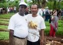Kunjungan Petani La Via Campesina ke Lahan Pertanian Agroekologis SPI di Sukabumi