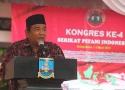 Sambutan dari Agus Ruli Ardiansyah selaku Ketua Panitia Kongres IV SPI
