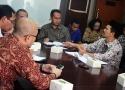Dialog SPI bersama staf khusus Presiden RI dan Badan Pertanahan Negara (BPN)