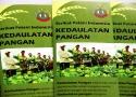 Flyer Kedaulatan Pangan yang diproduksi oleh Serikat Petani Indonesia (SPI)