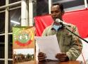Martinus Sinani, pembaca Petisi Kedaulatan Pangan Rakyat Indonesia
