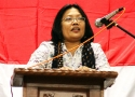 Risma Umar, mewakili Solidaritas Perempuan (SP)