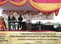 Gubernur Sumatera Barat, Irwan Prayitno menyampaikan sambutannya dalam puncak peringatan perayaan Harlah SPI ke-14