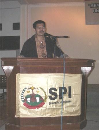 Ketua Umum SPI, Henry Saragih