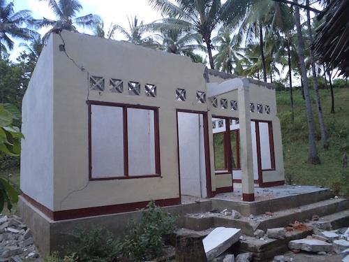 Kerusakan Gempa Lombok Utara