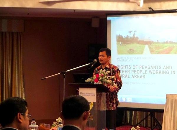 Henry Saragih_Ketua Umum SPI_Kebijakan Impor dan Subsidi yang Tepat