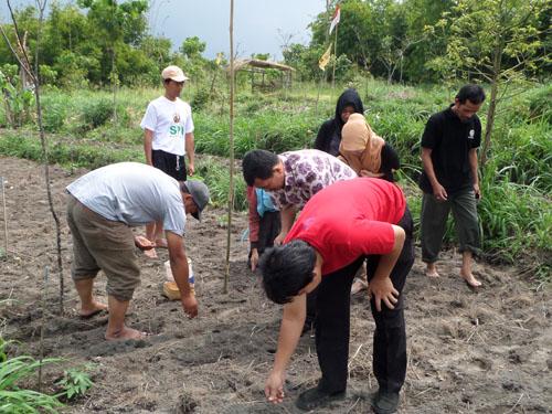 SPI Yogyakarta olah lahan bekas erupsi Merapi
