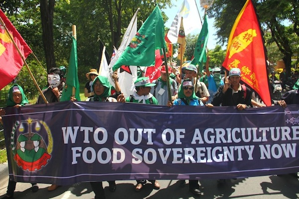 Aksi Akhiri WTO di Bali, 2013