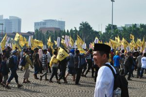 Ketua Umum SPI Henry Saragih Hari Tani Nasional 2016 di Jakarta
