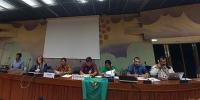 Henry Saragih, Ketua Umum SPI (ketiga dari kiri) dalam Sesi IV Dewan HAM PBB