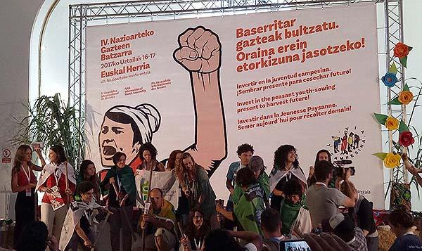 Pembukaan Majelis Pemuda Tani Internasional ke-4 La Via Campesina