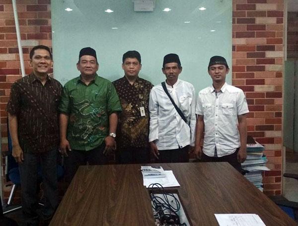 Perwakilan massa aksi diterima oleh Kantor Staf Presiden