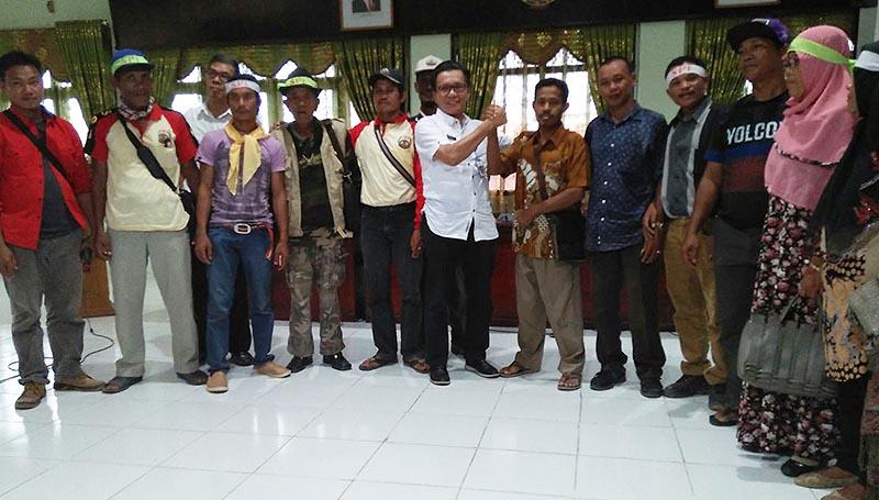 SPI Jambi bersama Kakanwil Dinas Kehutanan Jambi Irmansyah