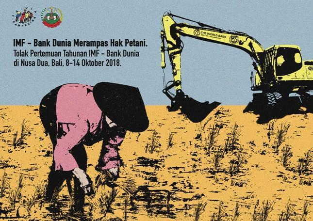 Poster Tolak IMF dan Bank Dunia