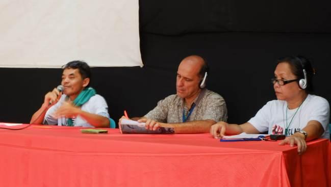 Zainal, anggota Koordinator Internasional La Via Campesina