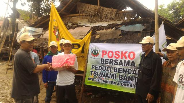 Penyerahan Bantuan Tsunami SPI Banten_2